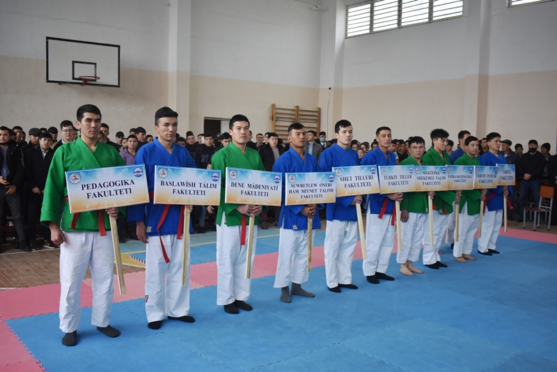 """DSC 0158 - There was held """"Rector's Cup"""" on national wrestling (kurash)"""