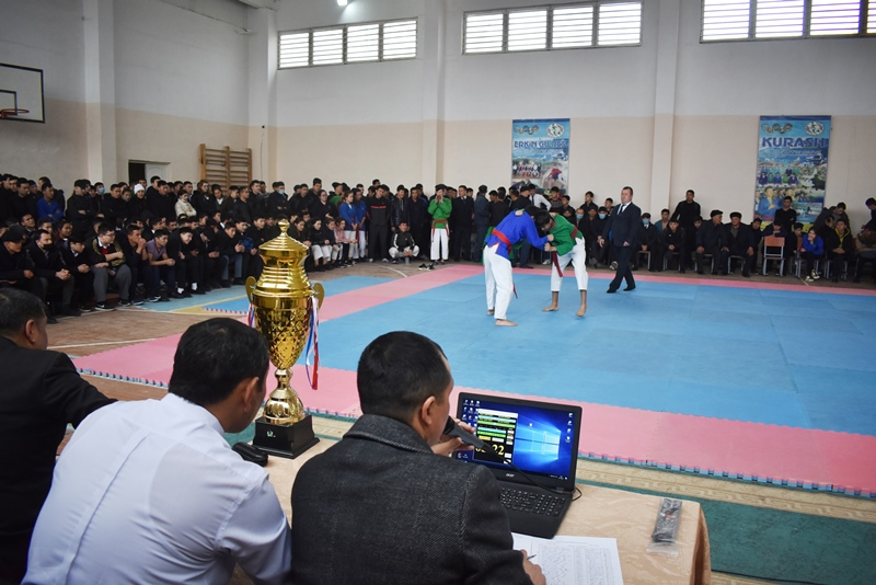 """DSC 0210 - There was held """"Rector's Cup"""" on national wrestling (kurash)"""