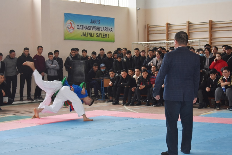 """DSC 0253 - There was held """"Rector's Cup"""" on national wrestling (kurash)"""