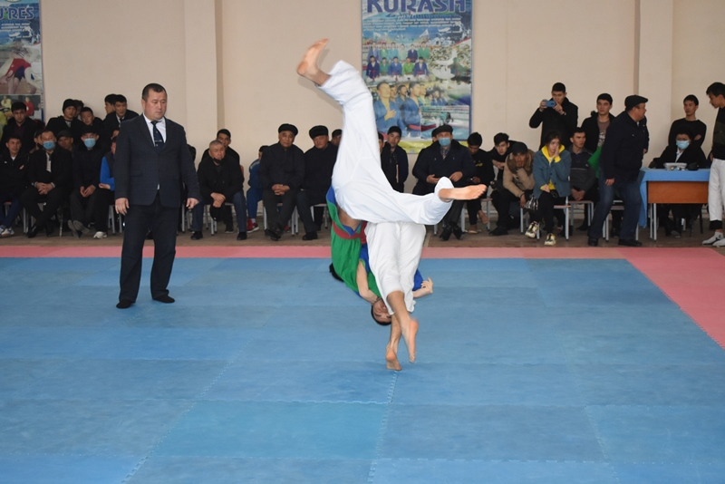 """DSC 0286 - There was held """"Rector's Cup"""" on national wrestling (kurash)"""