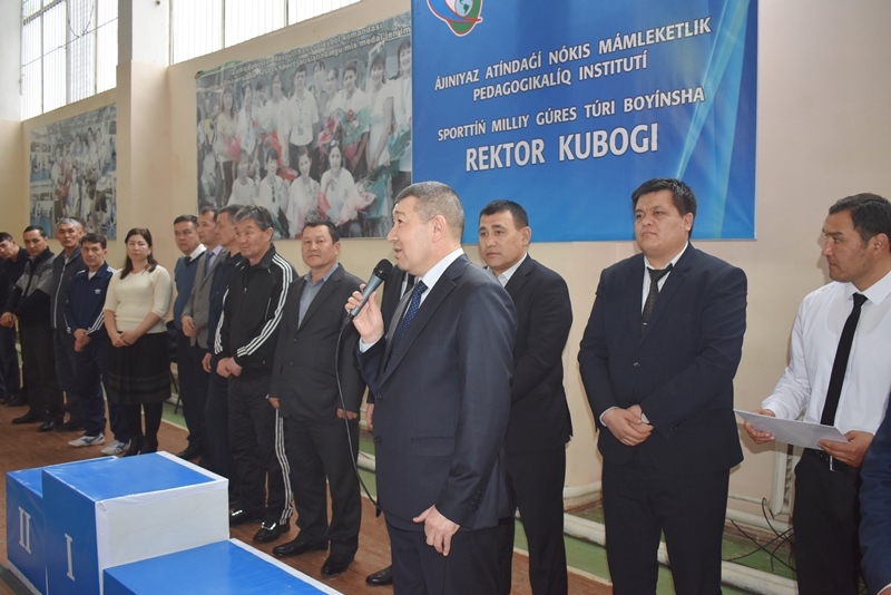 """DSC 0337 - There was held """"Rector's Cup"""" on national wrestling (kurash)"""