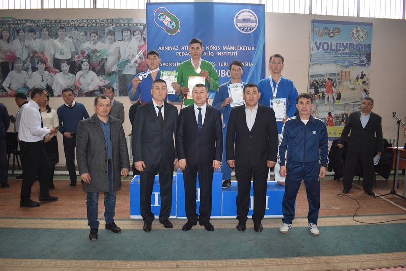 "DSC 0380 - There was held ""Rector's Cup"" on national wrestling (kurash)"
