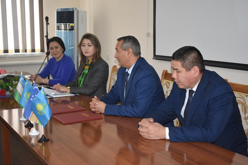 "DSC 0590 - There was signed an agreement on cooperation with a university of Kazakhstan included in the ""TOP-500"""
