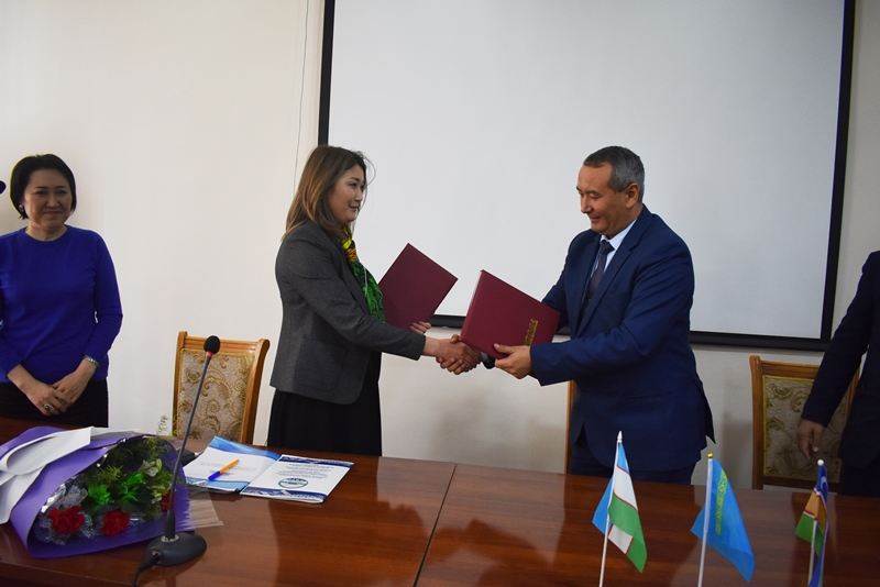 "DSC 0620 - There was signed an agreement on cooperation with a university of Kazakhstan included in the ""TOP-500"""