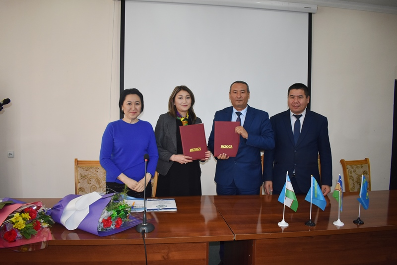 "DSC 0626 - There was signed an agreement on cooperation with a university of Kazakhstan included in the ""TOP-500"""