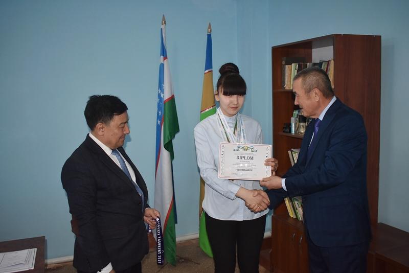 DSC 0959 - A student of NSPI Gulnura Seytjanova was directed to international championship on hand-to-hand fighting