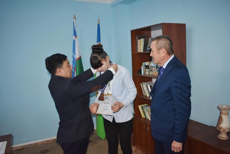 DSC 0963 - A student of NSPI Gulnura Seytjanova was directed to international championship on hand-to-hand fighting