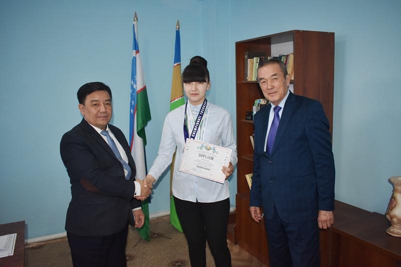 DSC 0969 - A student of NSPI Gulnura Seytjanova was directed to international championship on hand-to-hand fighting