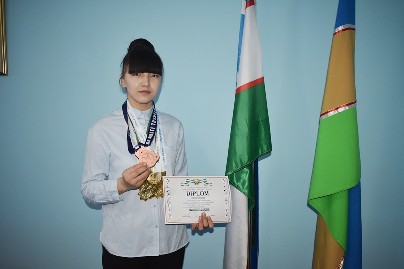 DSC 0978 - A student of NSPI Gulnura Seytjanova was directed to international championship on hand-to-hand fighting