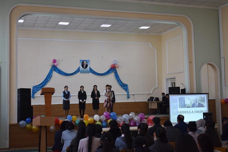DSC 0964 - Өзбекстан Қаҳарманы, халық шайыры Абдулла Ориповтың туўылғанына 80 жыл толыўына арналды
