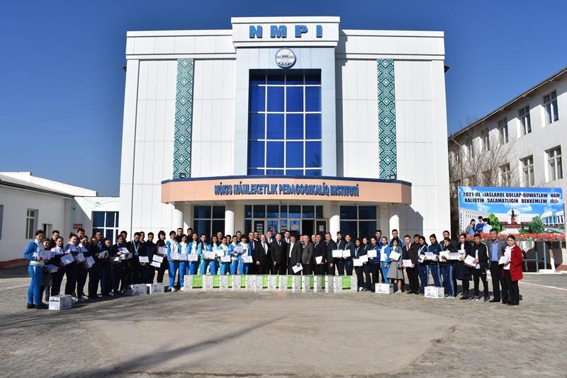 DSC 1138 - «Универсиада» жарысларында тарийхый нәтийжелерди қолға киргизген студентлер ҳәм олардың тренер-оқытыўшылары мүнәсип сыйлықланды