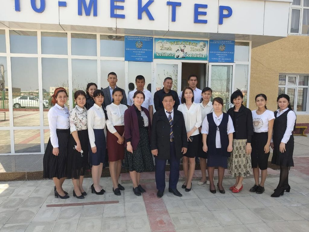 5 3 1024x768 - THE DEAN OF THE FACULTY GOT ACQUAINTED WITH THE PROCESS OF PEDAGOGICAL PRACTICE
