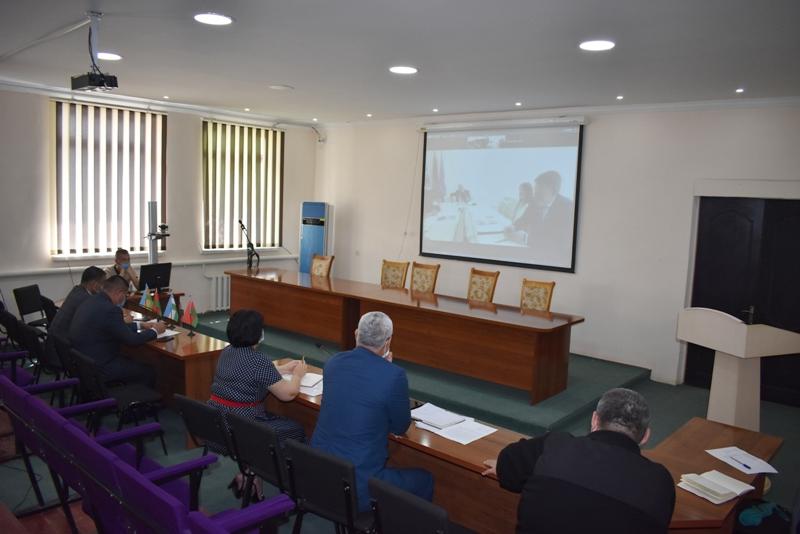DSC 0325 1 - Беларусь мәмлекетлик технологиялық университети менен бирге ислесиў мәселелери додаланды