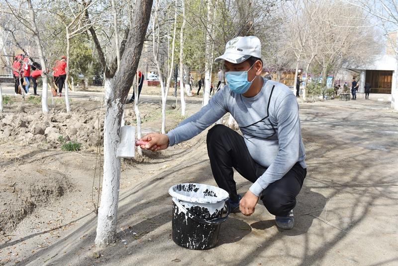 DSC 0637 - Жаслар басламасы тийкарында экологиялық акция өткерилмекте